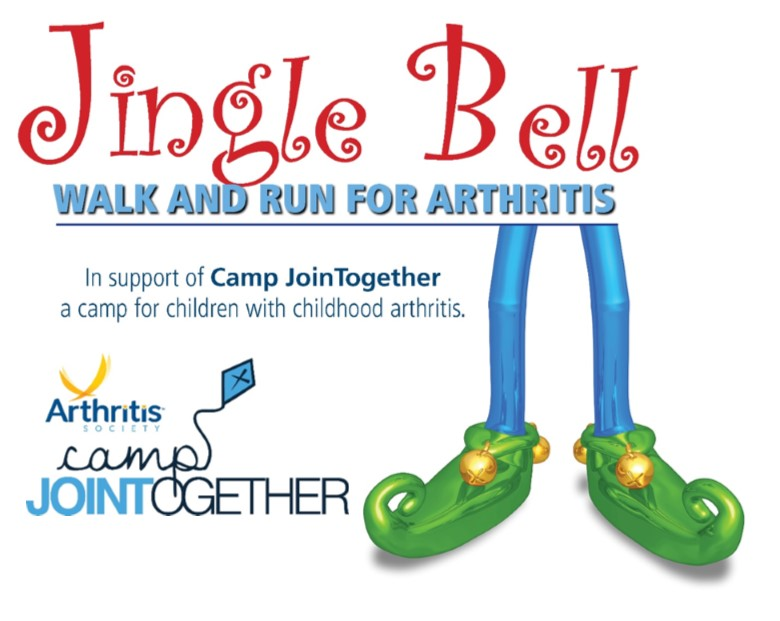 Jingle Bell Walk and Run for Arthritis in Support of Camp Join